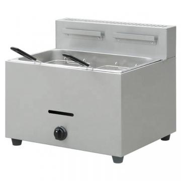 Shinelong Gas/Electric Combination 900 Series Fish and Potato Chips Industrial Deep Fryer Machine