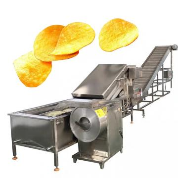 Semi-Auto Potato Chips French Fries Potato Chips Snack Making Machine