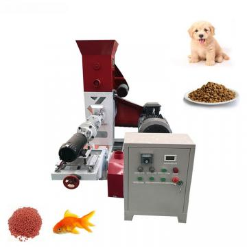 Manufacturer Floating Fish Feed Pellet Extruder Pellet Press Machine